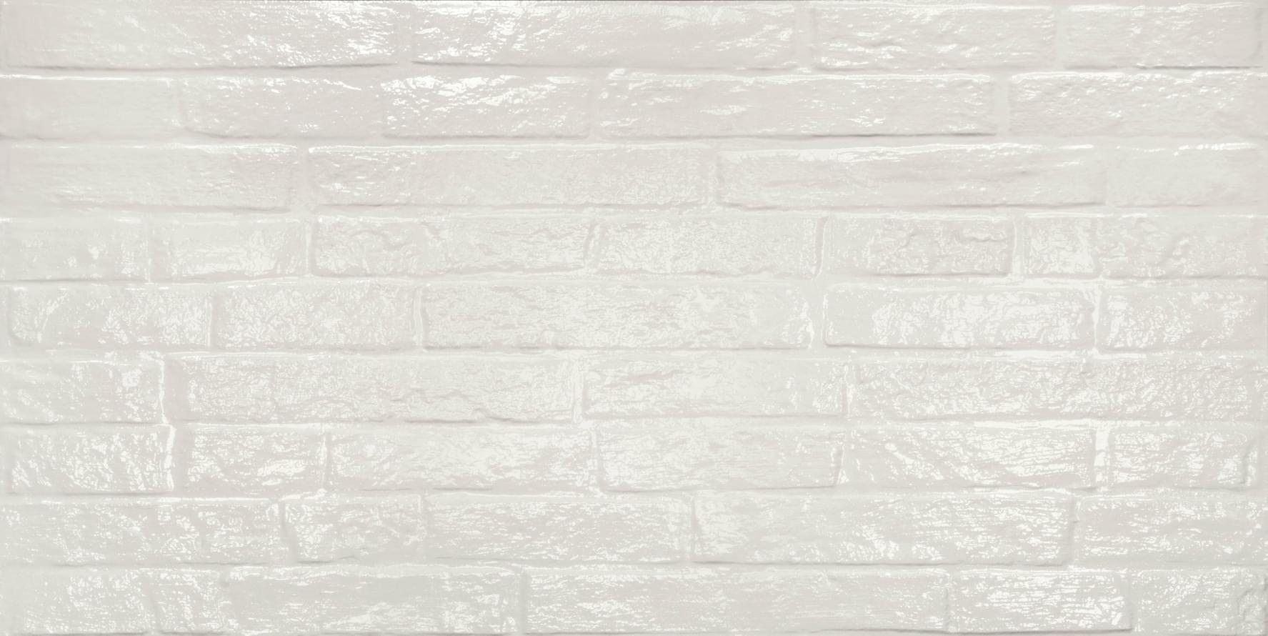 ABK Do Up Street White Glossy Rett 60x120