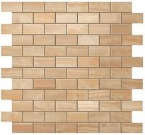 Плитка Atlas Concorde Russia Supernova Onyx Royal Gold Brick Mosaic 30.5x30.5 см, поверхность глянец