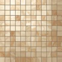 Плитка Atlas Concorde Russia Supernova Onyx Royal Gold Mosaic 30.5x30.5 см, поверхность глянец