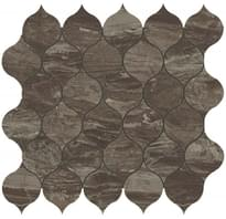 мозаика Absolute Brown Drop Mosaic 27.2x29.7 см фабрики Atlas Concorde коллекция Marvel Edge