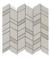 мозаика Light Mosaico Chevron Wall 30.5x30.5 см фабрики Atlas Concorde коллекция Mek