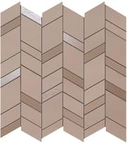 мозаика Rose Mosaico Chevron Wall 30.5x30.5 см фабрики Atlas Concorde коллекция Mek