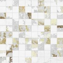 мозаика Mosaico Q. Solitaire White Mix 30x30 см фабрики Brennero коллекция Venus