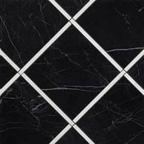 декор Incroci Nero Reale Carrara Inserto 60x60 см фабрики Fap коллекция Roma Diamond