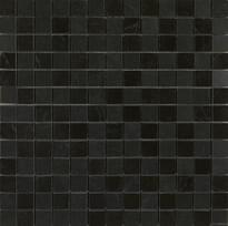 мозаика Mosaico Nero Marquina Lux 29x29 см фабрики Marazzi коллекция Evolutionmarble