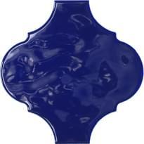 Плитка Tonalite Arabesque Silk Navy 14.5x14.5 см, поверхность глянец