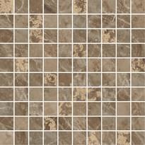 мозаика Mosaico T100 Decorato Marrone 29.1x29.1 см фабрики Versace коллекция Marble